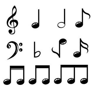 dibujar notas musicales