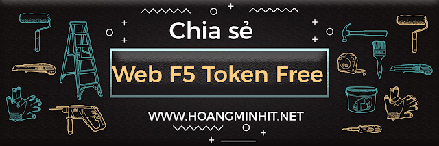 Chia sẻ website F5 ra token free