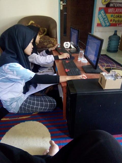 Ruang Belajar LKP Multi Komputer