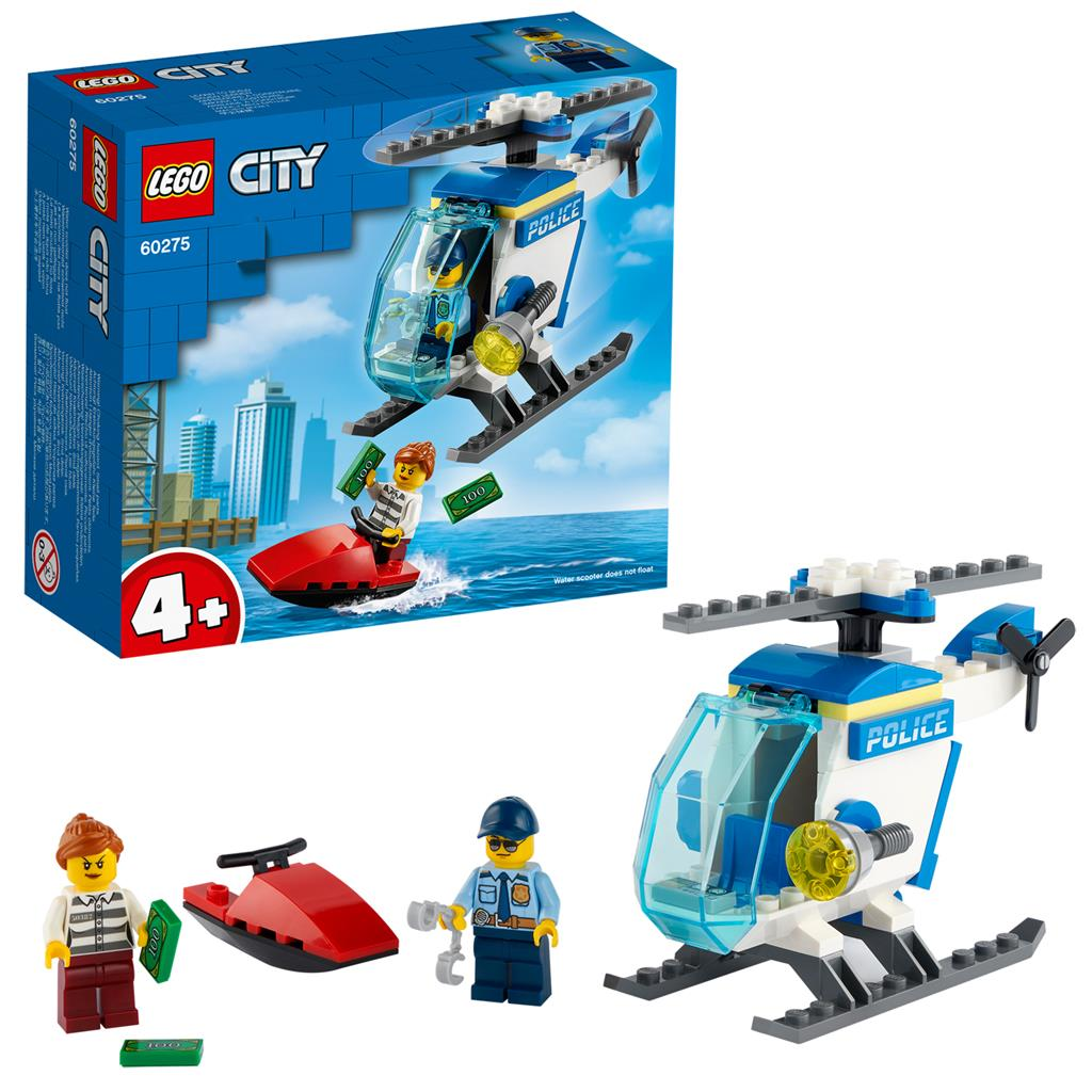 レゴ(LEGO) シティ ポリス・ヘリコプター 60275