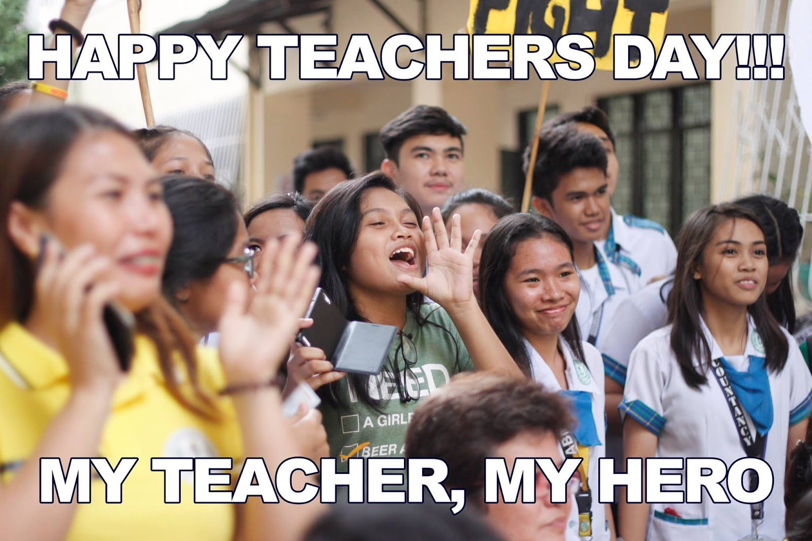 World Teachers' Day Wishes Pics