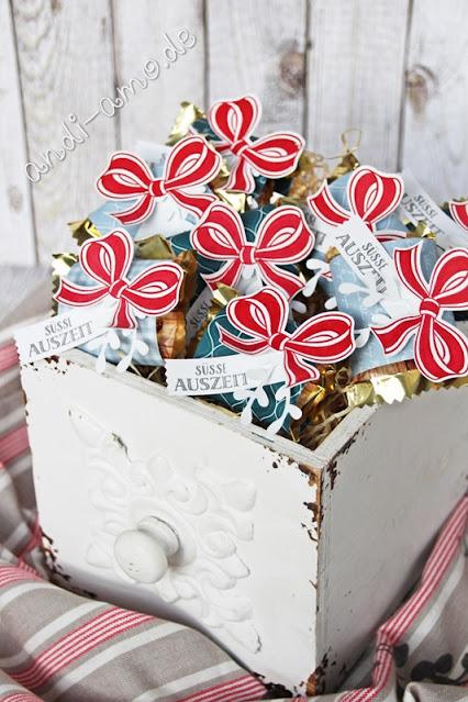 Goodies Stampin Up Verziert mit Liebe Geschenkschleife