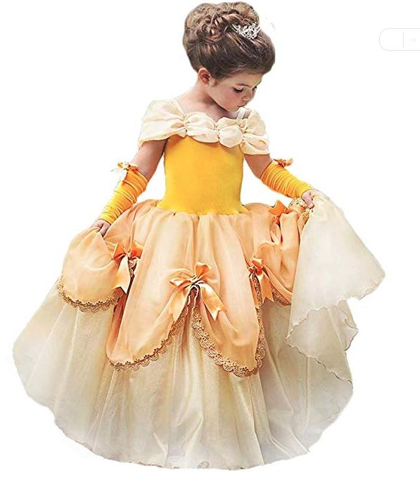 Girls Belle Costume