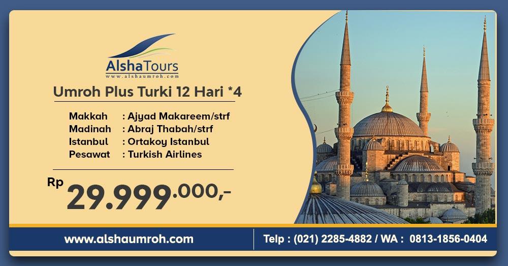 Umrah Plus Turki 2020