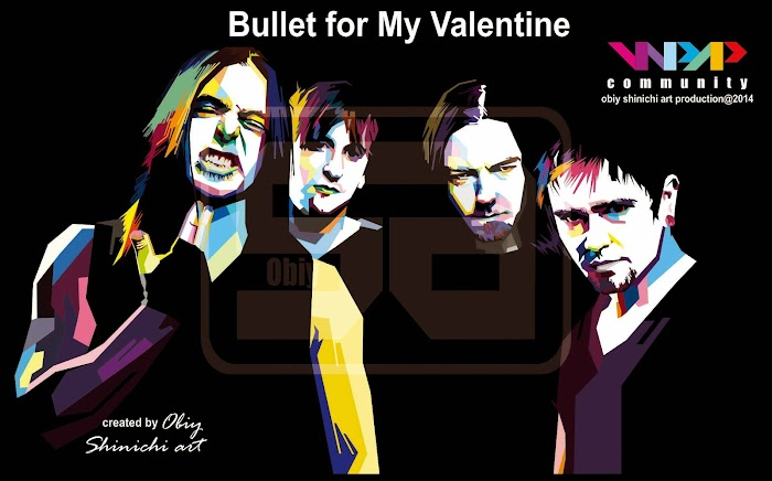 Bullet For My Valentine on WPAP by obiy shinichi art