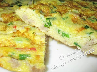 happy call pan fluffy minced pork omelette recipe