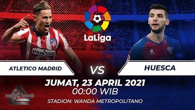 Prediksi Atletico Madrid Vs SD Huesca