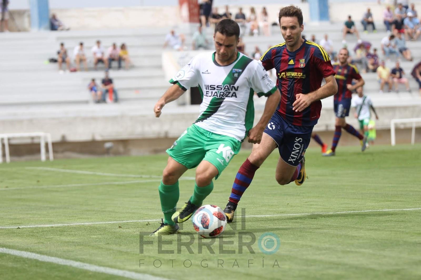 Resumen Play-offs Tercera División, segunda ronda, ida: De cara