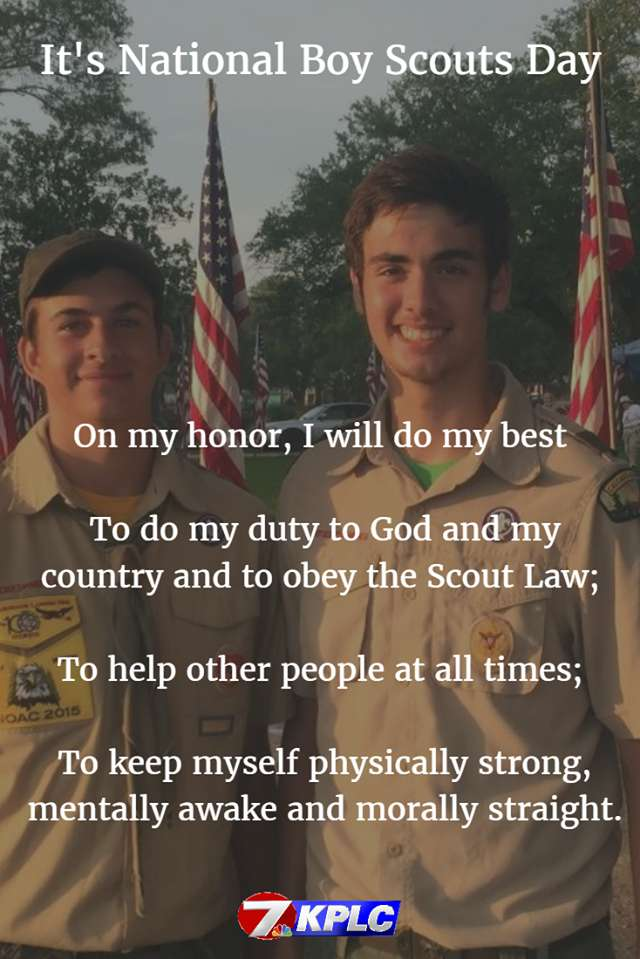 National Boy Scout Day Wishes pics free download