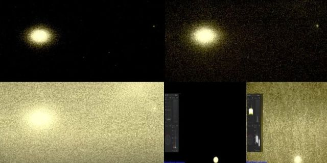 Mysterious Pulsating Beams Of Light Coming From Venus  Venus-planet-beams-of-light