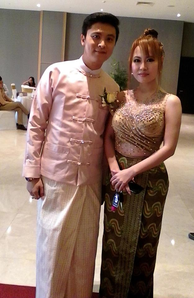 Shwe Yay Htin Htin Attends Director Wine's Wedding