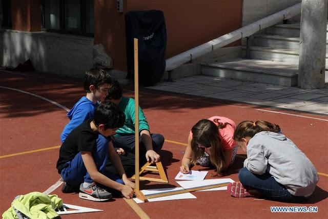 Μαθητές της Αργολίδας συμμετέχουν στο πείραμα του Ερατοσθένη