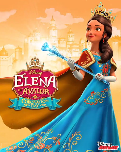 Elena of Avalor Coronation Day Poster