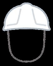 作業員のヘルメットのイラスト