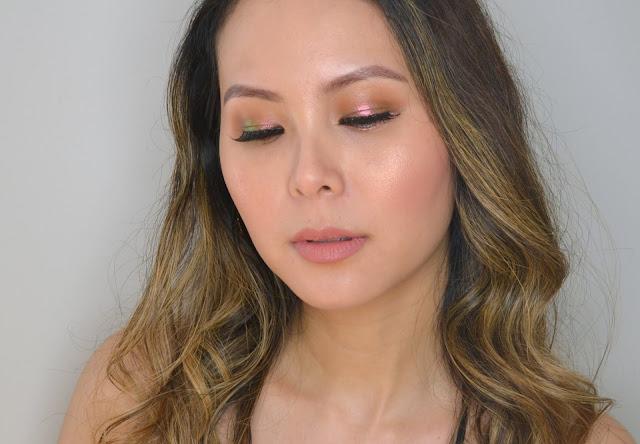 Natasha Denona Chromium Liquid Eyeshadows in Scarab, Ultraviolet and Infra Nude