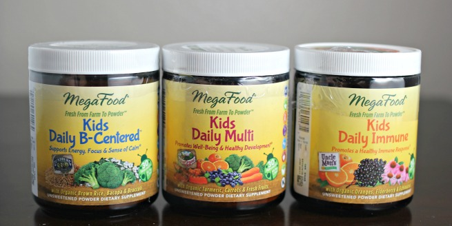 Review: MegaFood Kids Nutrient Boosting Powders
