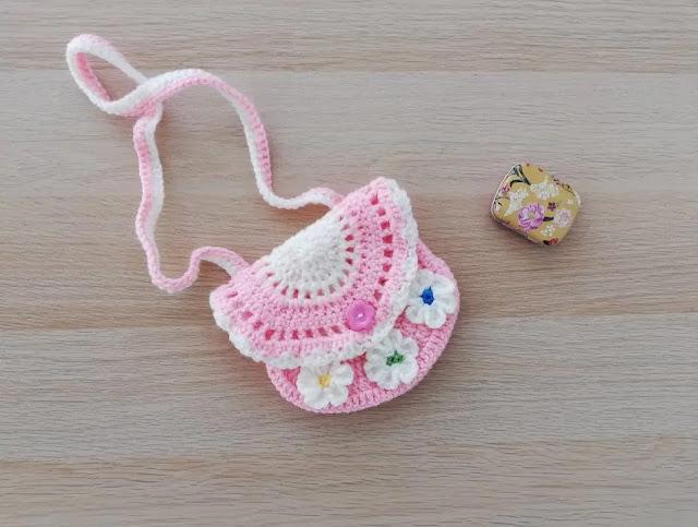 Carterita de Niña Veraniega a Crochet