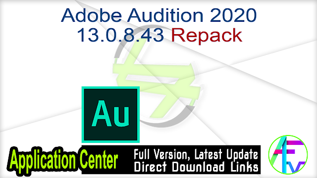 Adobe Audition 2020 13.0.8.43 Repack