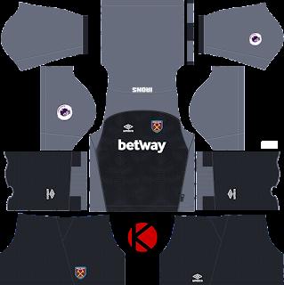 West Ham United 2018/19 Kit - Dream League Soccer Kits