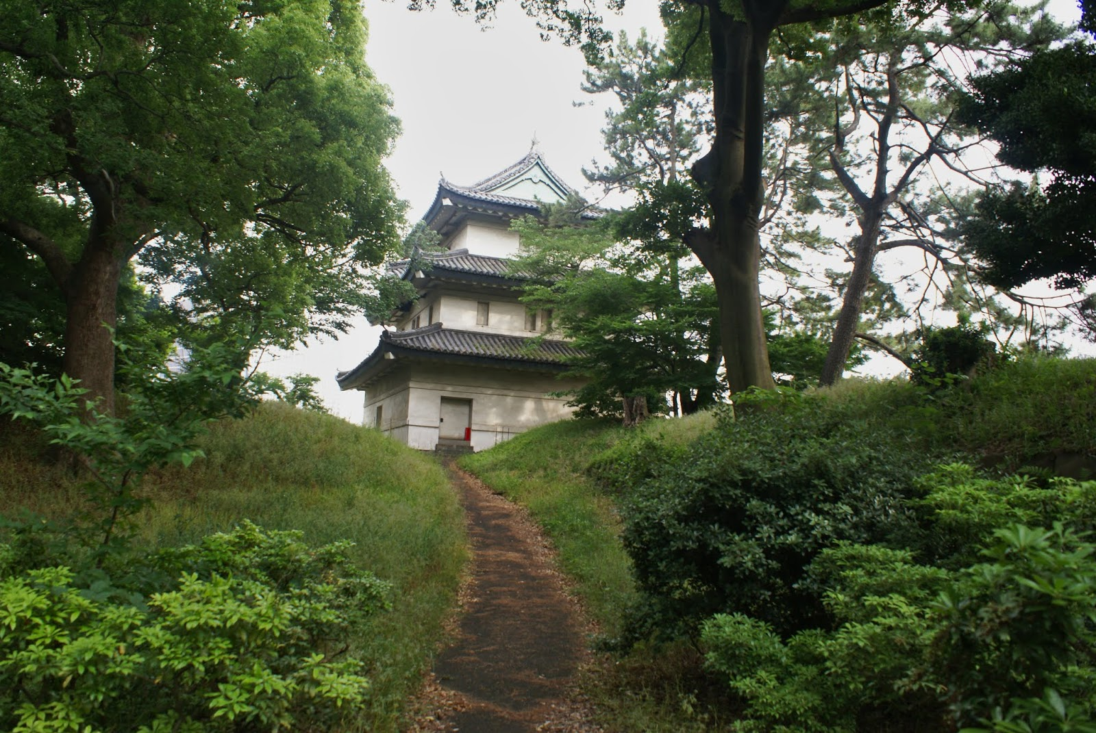 tokyo marunouchi imperial palace Kōkyo fujimi-yagura keep