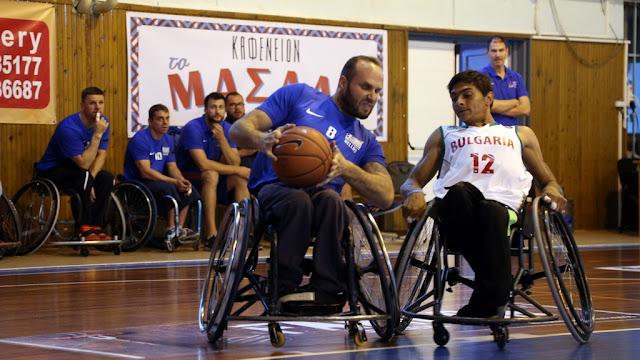 Κομοτηνή: Η «πρεμιέρα» του Διεθνούς Τουρνουά Καλαθοσφαίρισης με Αμαξίδιο