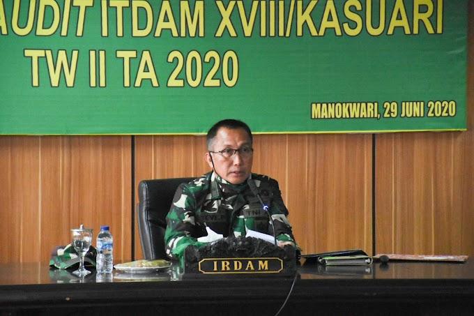 Taklimat Akhir _Current Audit_ Itdam XVIII/Kasuari TW II TA 2020