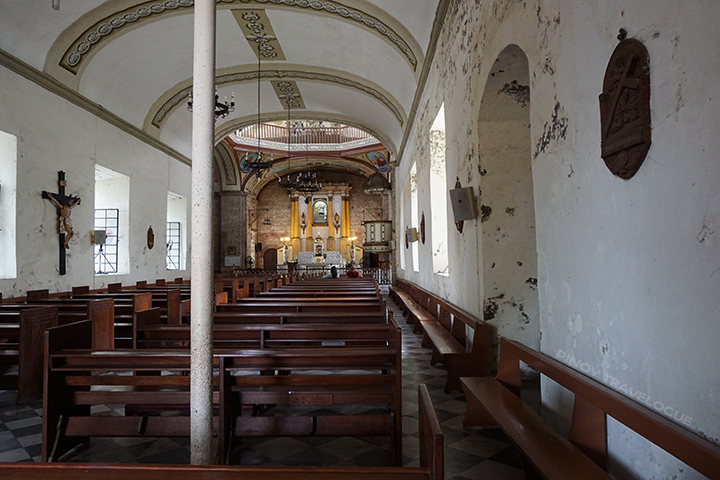 Inside Caysasay Church