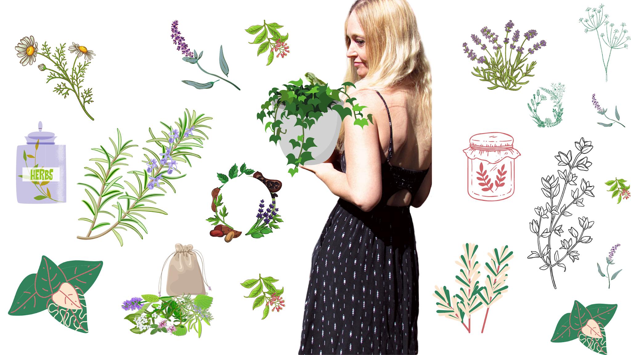 herbal leaves, herbal spell remedies, herbal green magic, green energy healing