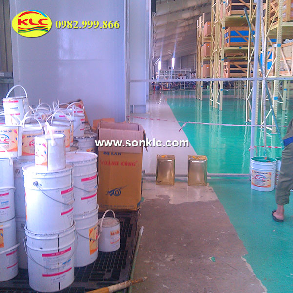 Construction of quality anti-rust epoxy paint according to customer requirements in Tay Ninh