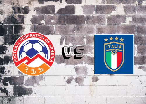 Armenia vs Italia  Resumen & Partido Completo