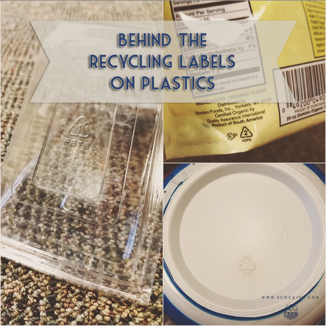 Behind The Recycling Labels On Plastics Eco Cajun