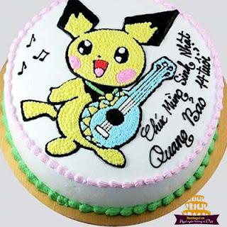 bánh-pikachu