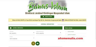 Cara Download Jadwal Imsakiyah Ramadan 1441 H Seluruh Indonesia