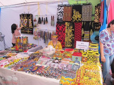 Various handmade Beads at Sarawak Craft Festival 2015 @ WireBliss