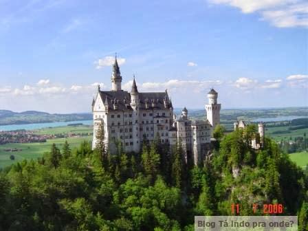 Alemanha: as pontes mais fantásticas! Neuschwanstein visto da Marienbrücke