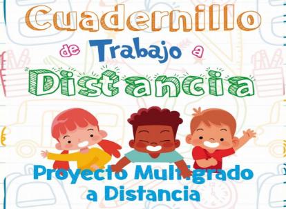 CUADERNILLO DE TRABAJO A DISTANCIA 1º, 2º, 3º, 4º, 5º Y 6º GRADO PRIMARIA