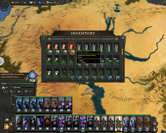 Fantasy General 2 - Best Item Drops - War Banner