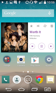 LG G3 Music Player