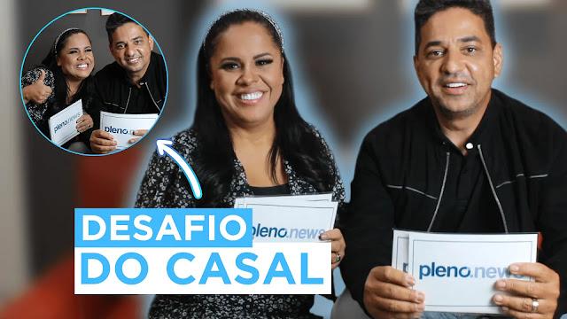 Cassiane e Jairinho participam do Desafio do Casal