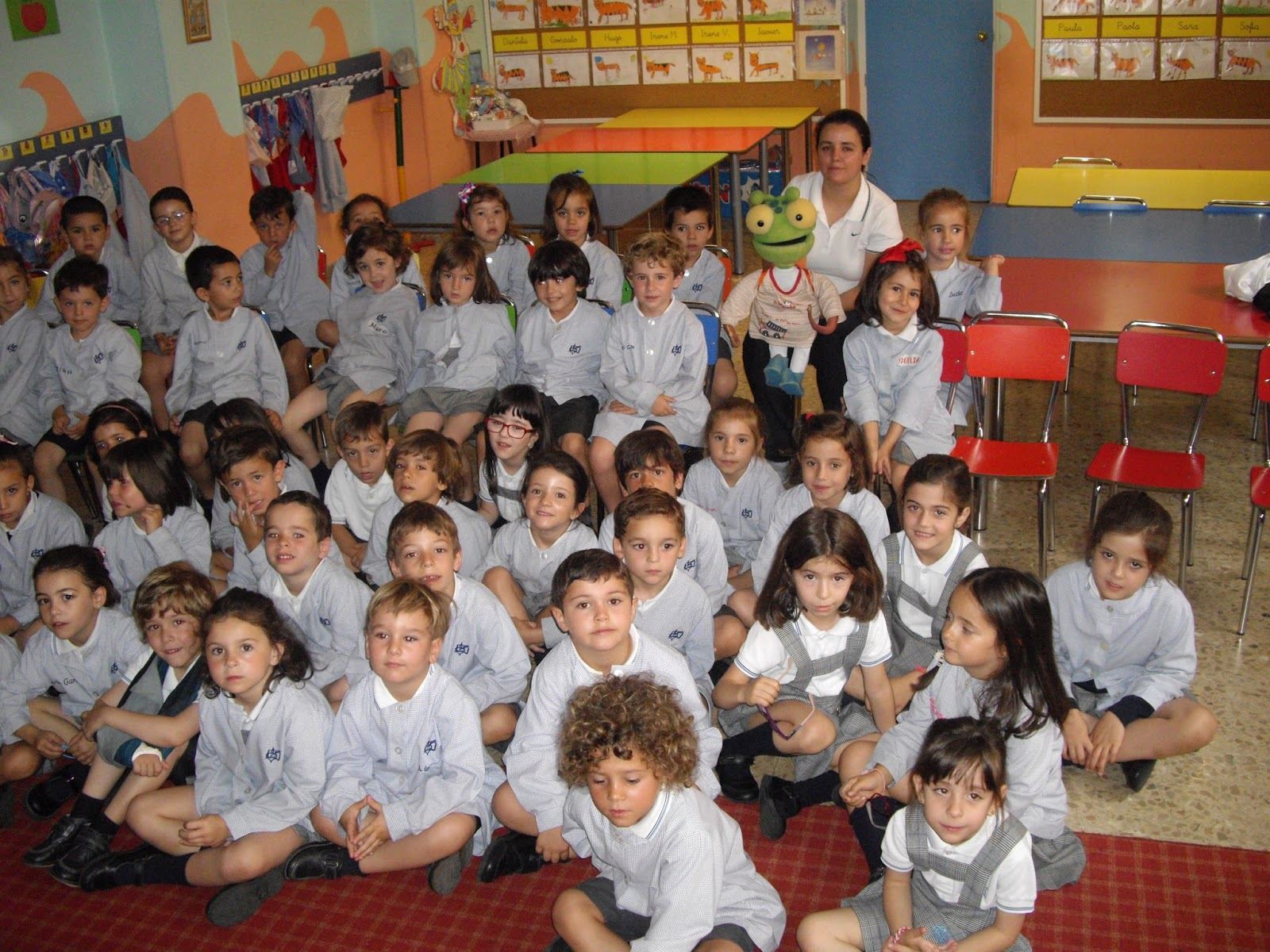 Agustinas Valladolid - 2017 - Infantil 4 - 5 - Taller Postural