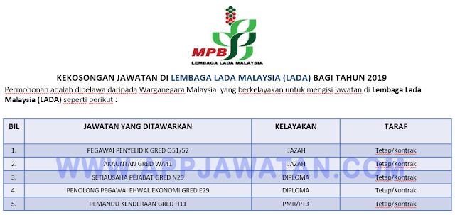 Lembaga Lada Malaysia (LADA)