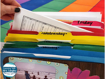 This blog posts highlights 5 teacher time saving tips when it comes to planning for centers, guided reading groups, math, and seasonal activities. Get your work done and don't take it home!
