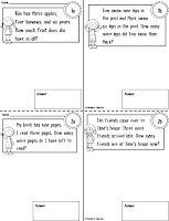 Mini Workbook for Simple Addition and Subtraction Word Problems