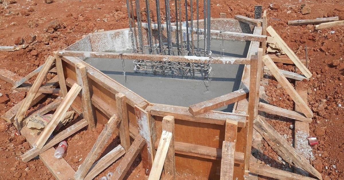 Pekerjaan Pile Cap Pada Proyek Pembuatan Pabrik Belajar Dan Bermain