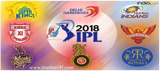 Data pack to watch IPL 2018 cricket matches