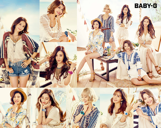Girls' Generation Baby-G Kiss Me