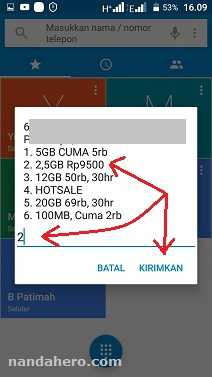 kode paket internet tri murah 2.5gb 9500 2018