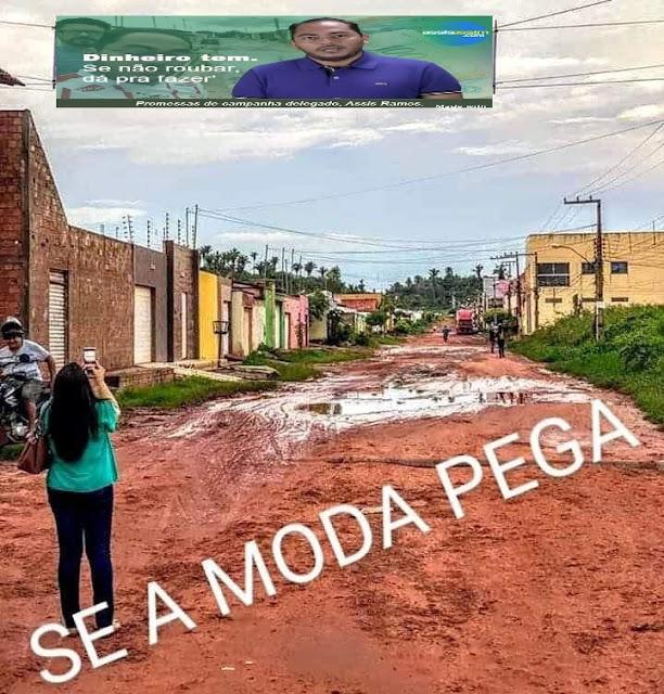 O prefeito Assis Ramos corre o risco de não se reeleger e ainda prejudicará a eleição de pelo menos 7 candidatos a vereador!!!