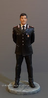 statuina personalizzata modellino uomo in divisa carabinieri idea regalo orme magiche