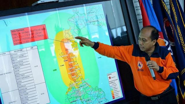 BNPB Sebut Lumpur Sebagai Kendala Pencarian Korban di Palu